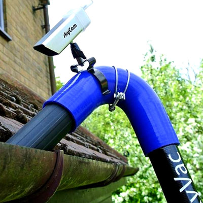 Skyvac, professional gutter cleaning equipment